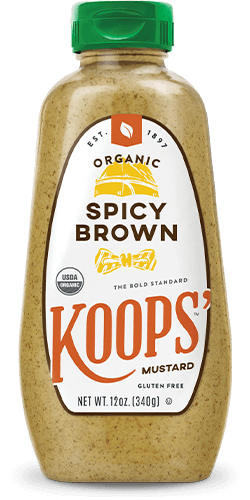 Organic Spicy Brown Bottle