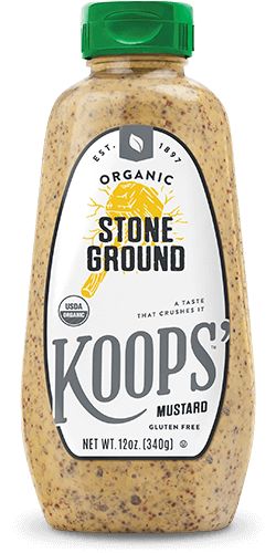 Organic Stone Ground Bottle